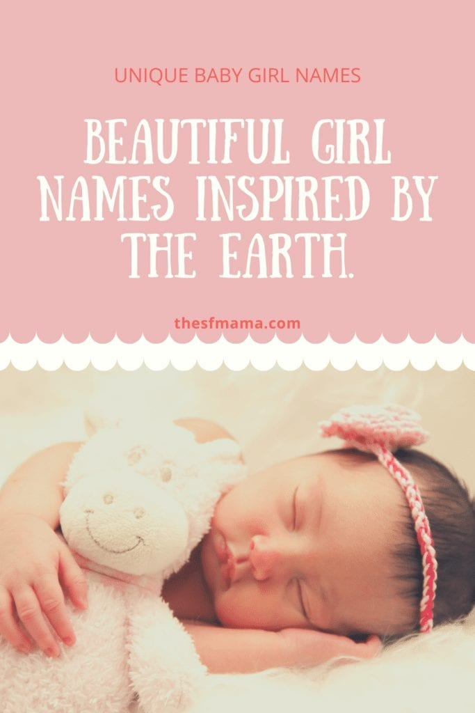 Unique baby names for girls.