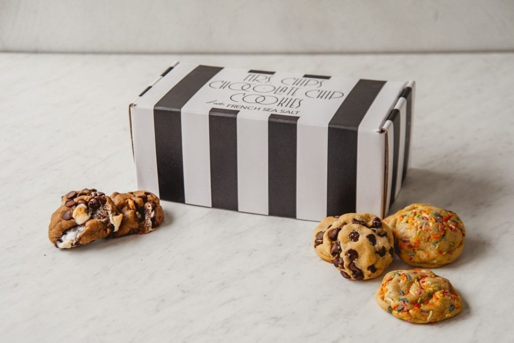 Mrs. Cookies subscription- a sweet pregnancy gifts for first time Moms