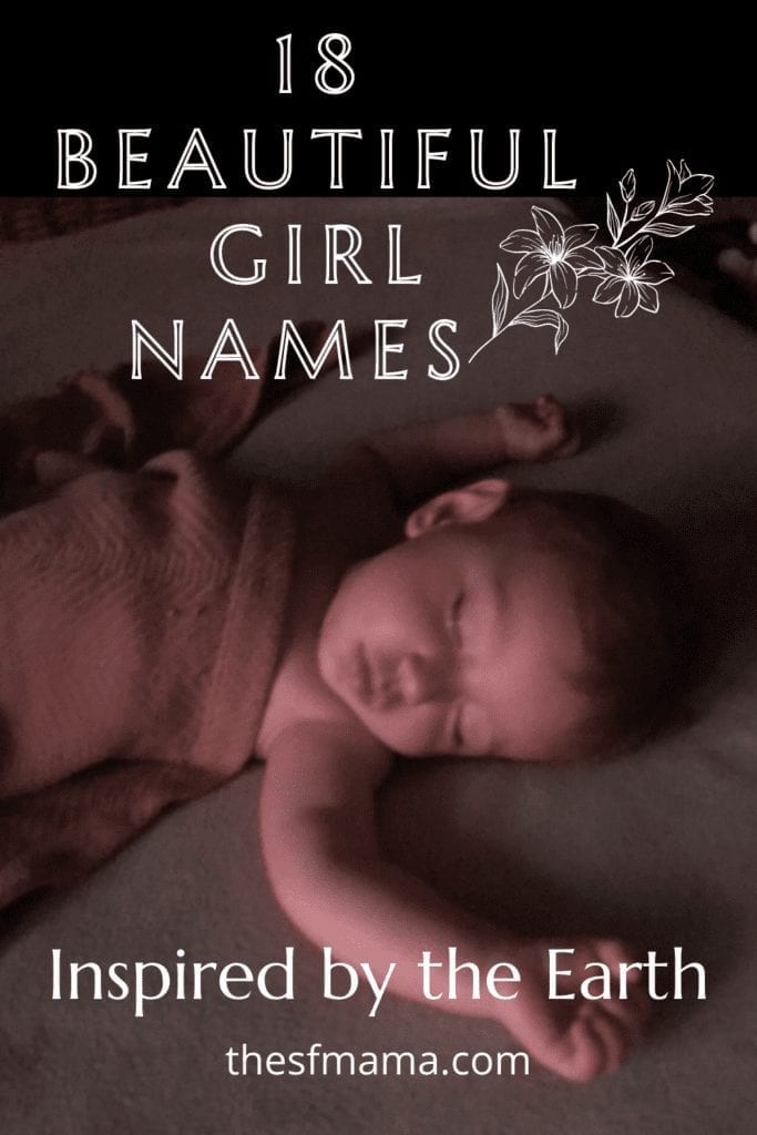 Baby Girl Names inspired by the Earth.