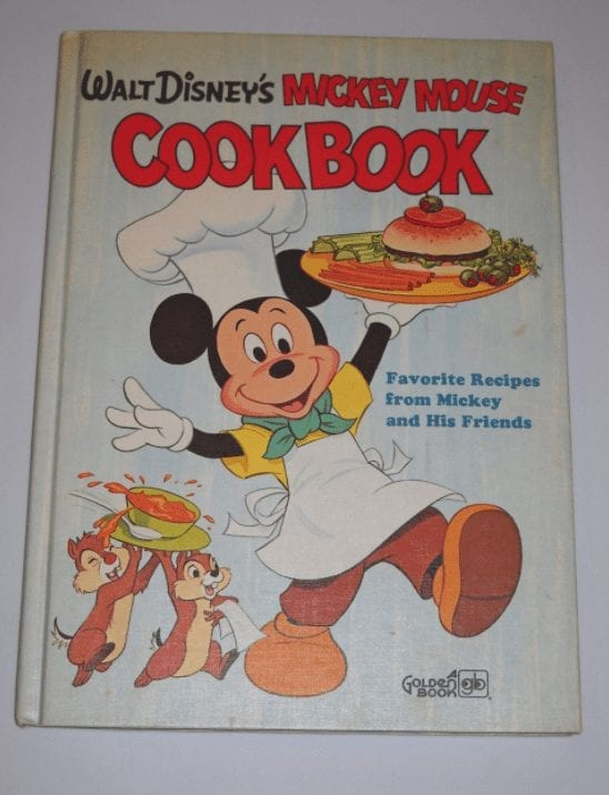 """Cover of """"Walt Disney's Mickey Mouse Cookbook"""""""