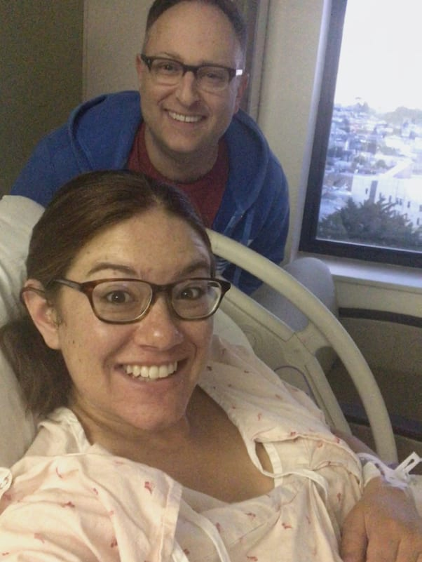 What it's like to be induced at 41 weeks
