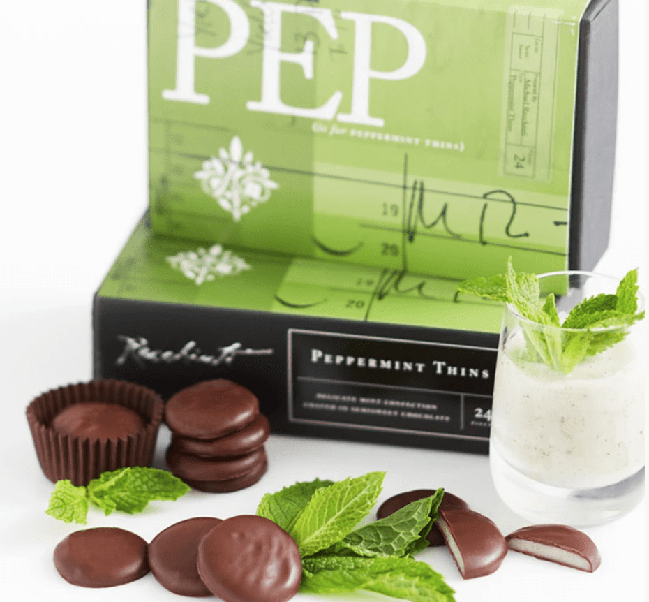 Peppermint Thins from Recchiuti