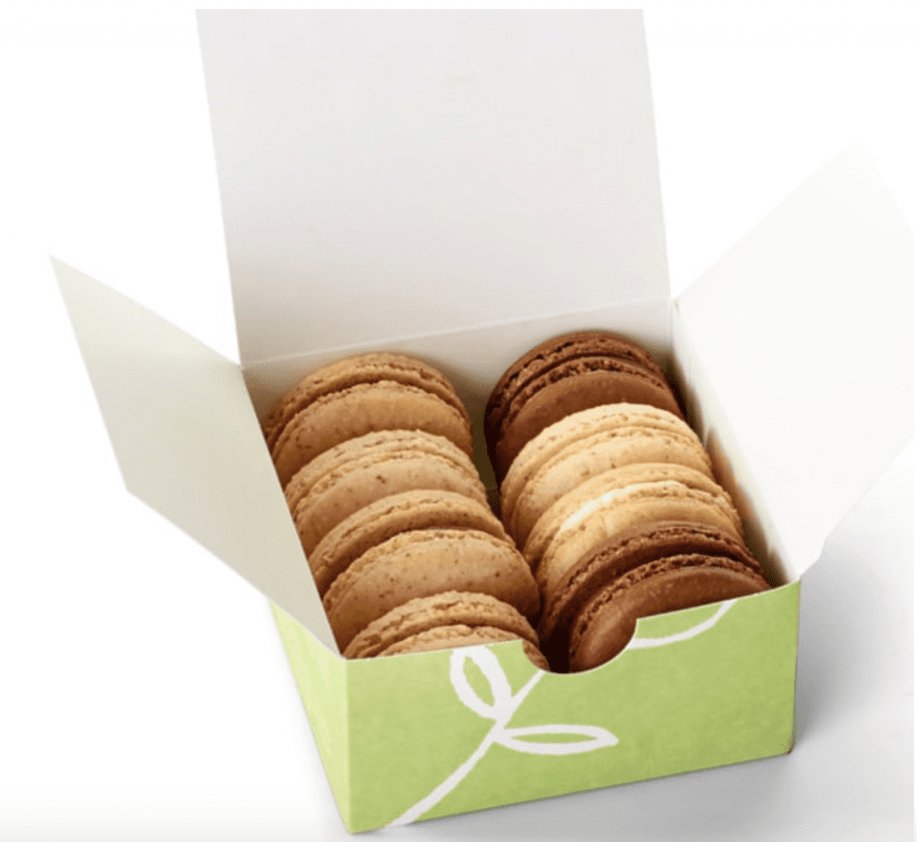 Box of Macarons from Miette in San Francisco