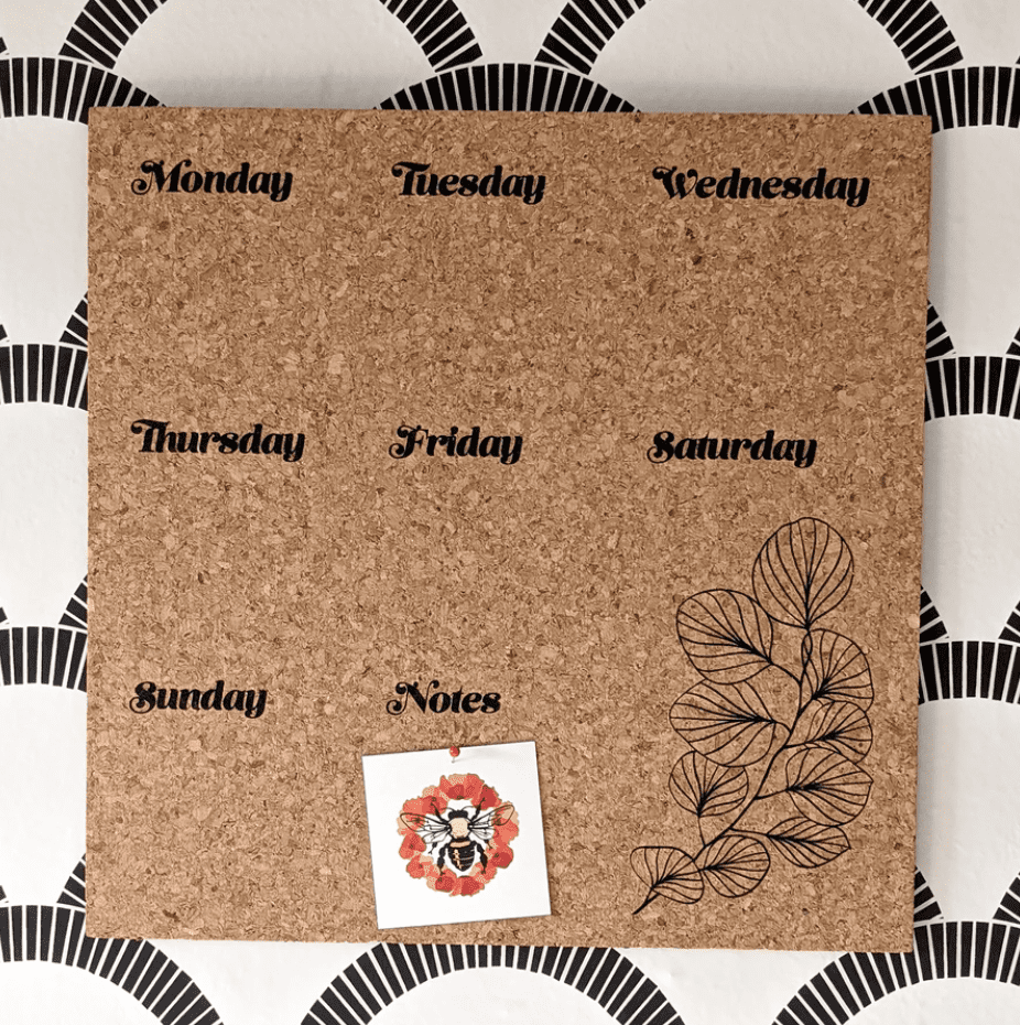Cork Board mother's day gift under $25